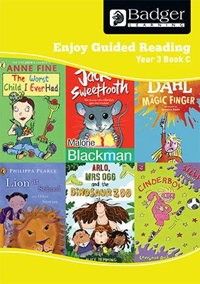 Enjoy Guided Reading Year 3 Book C Teacher Book & CD Badger Learning