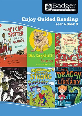 Enjoy Guided Reading Year 4 Book B Teacher Book & CD Badger Learning