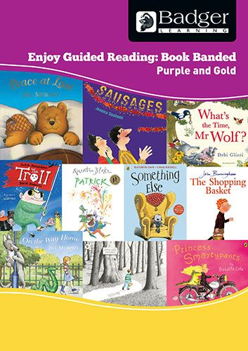 Enjoy Guided Reading Book Band - Purple and Gold Teacher Book & CD Badger Learning