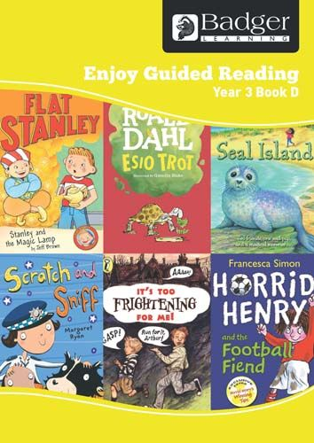 Enjoy Guided Reading Year 3 Book D Teacher Book & CD Badger Learning