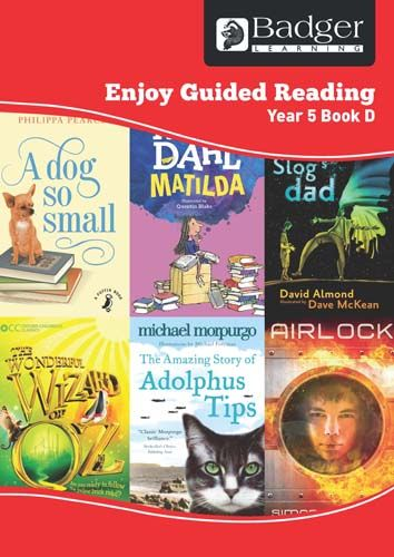 Enjoy Guided Reading Year 5 Book D Teacher Book & CD Badger Learning