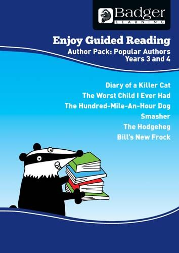 Enjoy Guided Reading Famous Authors Teacher Book & CD Badger Learning