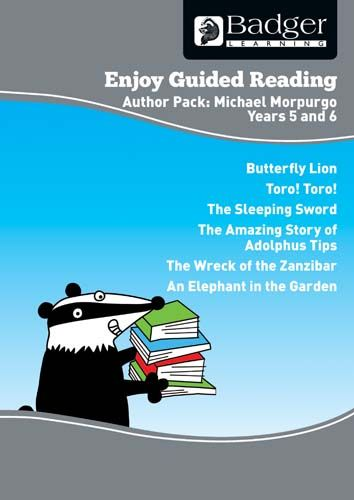 Enjoy Guided Reading Michael Morpurgo Teacher Book & CD Badger Learning