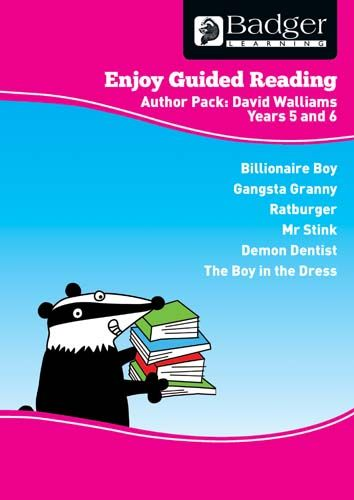 Enjoy Guided Reading David Walliams Teacher Book & CD Badger Learning