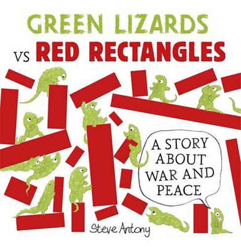 Green Lizards vs Red Rectangles - Pack of 6 Badger Learning