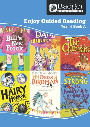 Enjoy Guided Reading Year 4 Book A Teacher Book & CD Badger Learning
