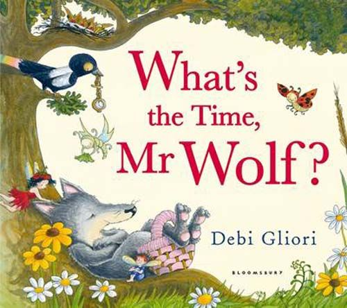 What's the Time Mr Wolf - Pack of 6 Badger Learning