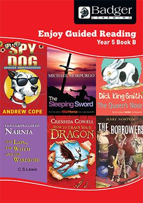 Enjoy Guided Reading Year 5 Book B Teacher Book & CD Badger Learning