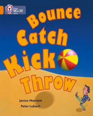 Bounce, Kick, Catch Badger Learning