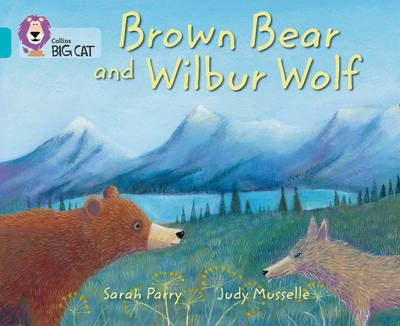 Brown Bear and Wilbur Wolf Badger Learning