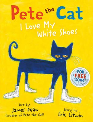 Pete the Cat I Love My White Shoes Badger Learning