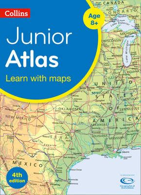Collins Junior Atlas Badger Learning