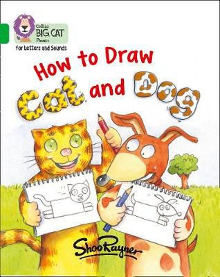 How to Draw Cat and Dog Badger Learning