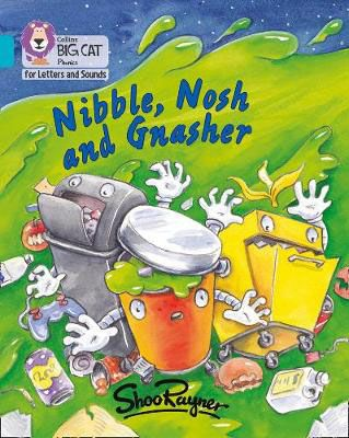 Nibble, Nosh and Gnasher Badger Learning