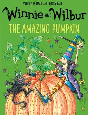 Winnie and Wilbur: The Amazing Pumpkin Badger Learning