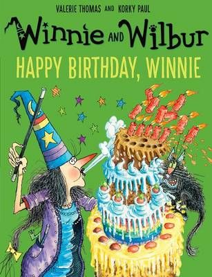 Winnie and Wilbur: Happy Birthday, Winnie Badger Learning