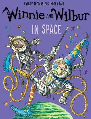 Winnie and Wilbur in Space Badger Learning