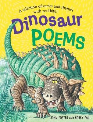 Dinosaur Poems Badger Learning