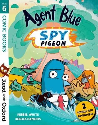 Agent Blue, Spy Pigeon Badger Learning