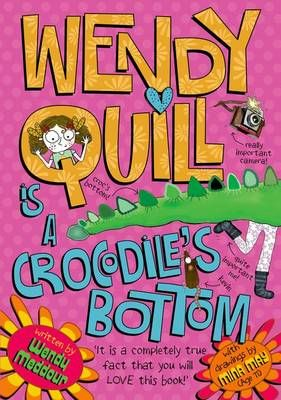 Wendy Quill is a Crocodile's Bottom Badger Learning
