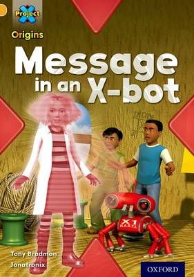 Message in an X-Bot (Communication) Badger Learning