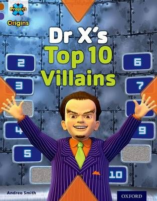 Dr X's Top Ten Villains Badger Learning