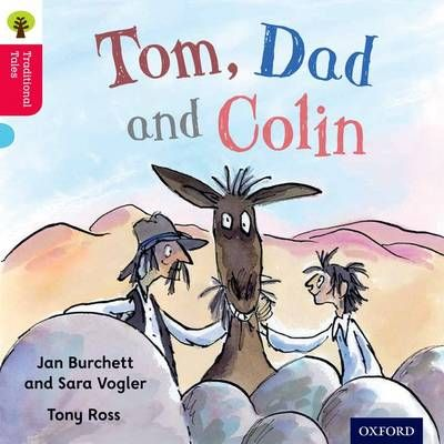 Oxford Reading Tree Traditional Tales: Level 4: Tom, Dad and Colin Badger Learning