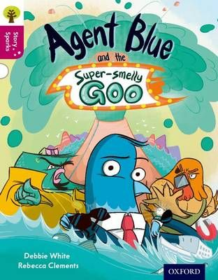 Agent Blue and the Super-Smelly Goo Badger Learning