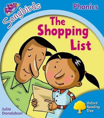 The Shopping List Badger Learning