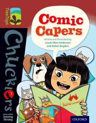 Comic Capers Badger Learning