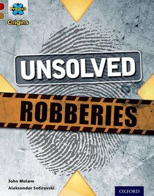 Unsolved Robberies Badger Learning