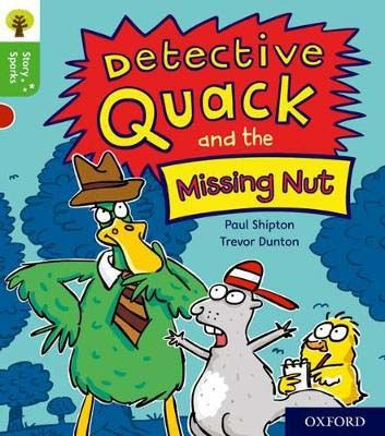 Detective Quack & the Missing Nut Badger Learning