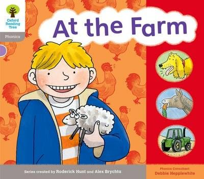 Oxford Reading Tree: Level 1: Floppy's Phonics: Sounds and Letters: at the Farm Badger Learning