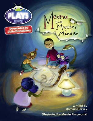 Meena the Monster Minder Badger Learning