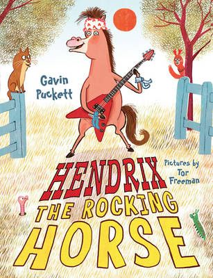 Hendrix the Rocking Horse Badger Learning