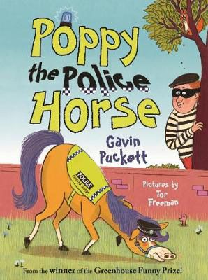 Poppy the Police Horse Badger Learning