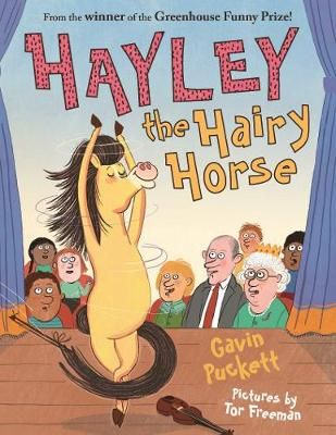 Hayley the Hairy Horse Badger Learning
