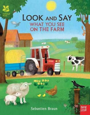 National Trust: Look and Say What You See on the Farm Badger Learning