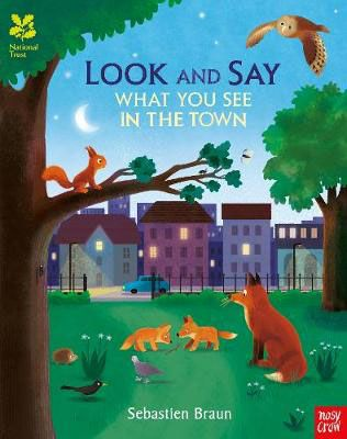 Look & Say What You See in a Town Badger Learning