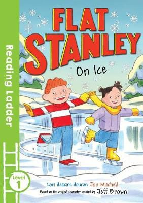Flat Stanley on Ice Badger Learning