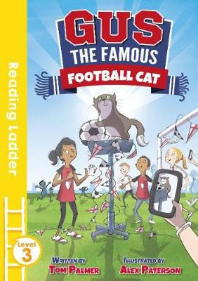 Gus the Famous Football Cat Badger Learning