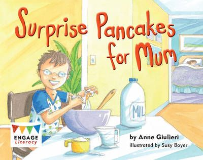 Surprise Pancakes for Mum Badger Learning