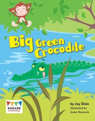 Big Green Crocodile Badger Learning