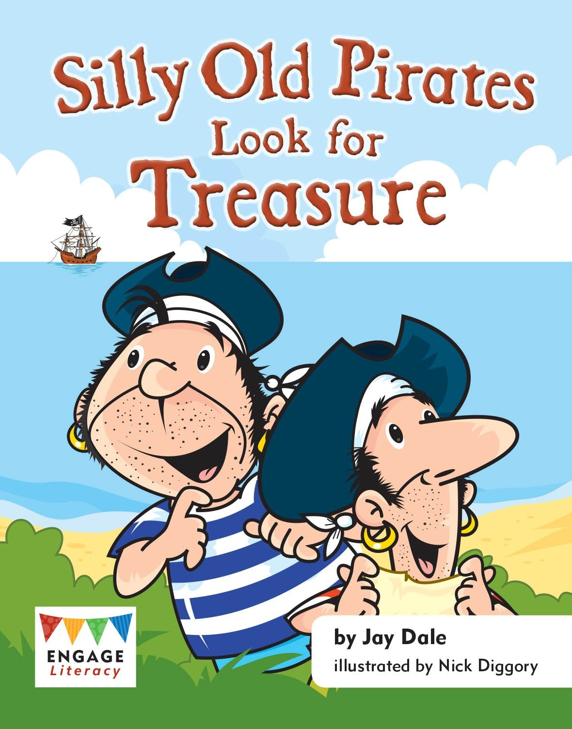 Silly Old Pirates Look for Treasure Badger Learning