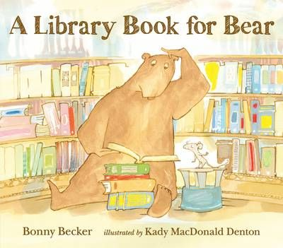 A Library Book for Bear Badger Learning