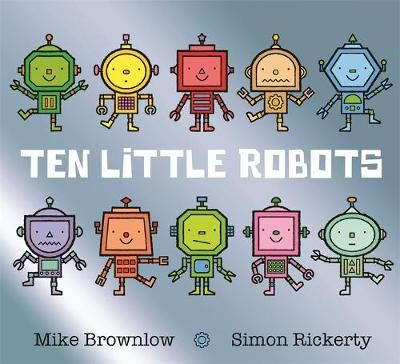 Ten Little Robots Badger Learning