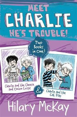 Charlie & the Cheese & Onion Crisps & Charlie & the Cat Flap Badger Learning
