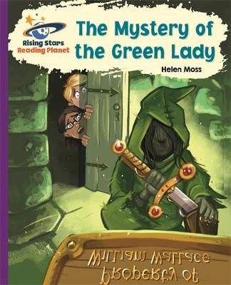 Reading Planet - The Mystery of the Green Lady - Purple: Galaxy Badger Learning