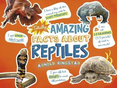Totally Amazing Facts About Reptiles Badger Learning