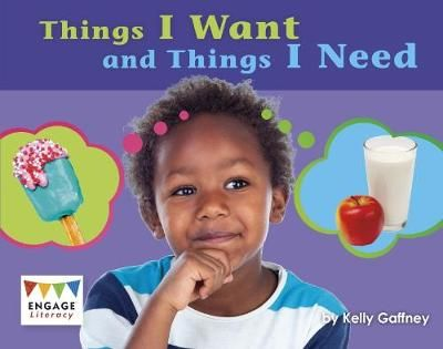 Things That I Want & Things That I Need Badger Learning